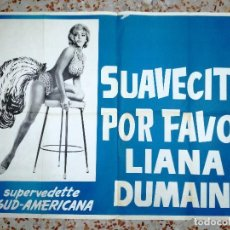 Fotos de Cantantes: LIANA DUMAINE -LA SUPERVEDETTE SUD-AMERICANA.SUAVECITO POR FAVOR.LIANA DUMAINE.. Lote 83268836