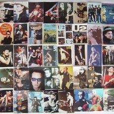 Fotos de Cantantes: U2. 50 REPRODUCCIONES EN FOTO. LOTE Nº 1.. Lote 106571690