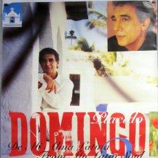 Fotos de Cantantes: PLÁCIDO DOMINGO. DE MI ALMA LATINA 2 (1997) CARTEL ORIGINAL GIGANTE 101 X 152 CMS.. Lote 87344528
