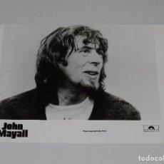 Photos de Chanteurs et Chanteuses: JOHN MAYALL - FOTOGRAFIA PROMOCIONAL DE EPOCA , 24 X 18 CM, BUEN ESTADO . Lote 87400884