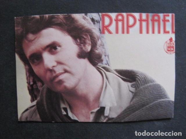 RAPHAEL - FOTO -VER FOTOS -(V-11.274) (Música - Fotos y Postales de Cantantes)