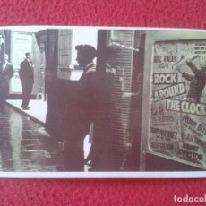 Fotos de Cantantes: POSTAL POST CARD THE NOSTALGIA POSTCARD, VINTAGE 1956 JOVEN TEENAGER GAUMONT CINEMA BILL HALEY ROCK. Lote 87800248