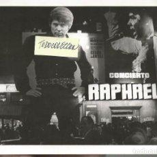 Photos de Chanteurs et Chanteuses: RAPHAEL FOTOGRAFIA ORIGINAL 18 X 24 CTMS.. Lote 114311196