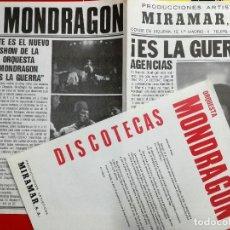 Fotos de Cantantes: ORQUESTA MONDRAGON- ES LA GUERRA-PROMOCIONES ARTISTICAS MIRAMAR.. Lote 90610865