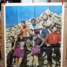 Fotos de Cantantes: CARTEL DEL CONJUNTO TAWATA SHOW.100X70 CM. Lote 90760290