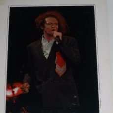 Fotos de Cantantes: (M) FOTOGRAFIA ORIGINAL DE SIMPLY RED , 30 X 24 CM, FIRMADA TONY MOON ???. Lote 92980465