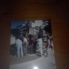 Fotos de Cantantes: FOTO. MOMENTO DE LA UBICACIÓN DEL MONUMENTO. DEL CAMARÓN. EST24B2. Lote 93017360