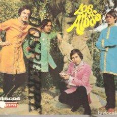 Fotos de Cantantes: FOTO-POSTAL, LOS ALBAS, DISCOS VERGARA. Lote 93580085