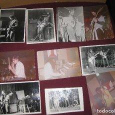 Fotos de Cantantes: BLOQUE. ROCK PROGRESIVO Y SINFONICO. 10 FOTOS ORIGINALES.. Lote 93741960