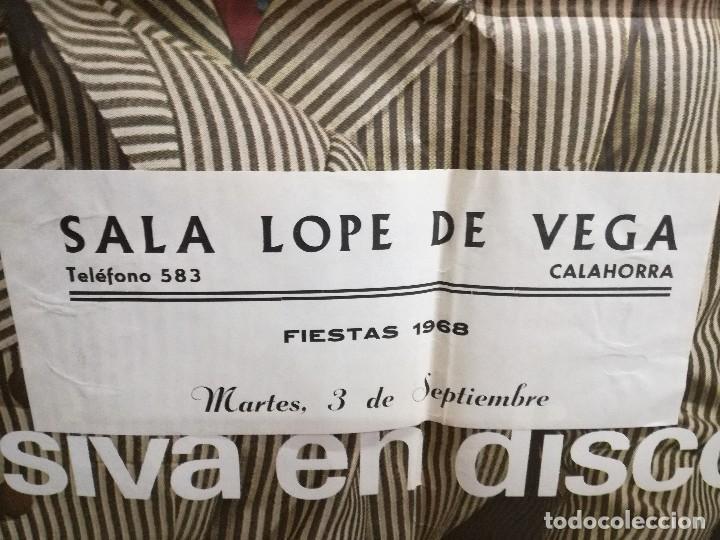 Fotos de Cantantes: CARTEL DEL GRUPO. LOS COMODINES. AÑO1968. RARO,actuacionEN CALAHORRA LA RIOJA.SALA LOPE DE VEGA - Foto 2 - 93816030