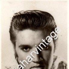 Fotos de Cantantes: FOTOGRAFIA ORIGINAL DE ELVIS PRESLEY, MAGNIFICA, 85X135MM. Lote 93996545