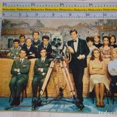 Fotos de Cantantes: POSTAL DE MÚSICA TELEVISIÓN. PROGRAMA DISCO ESCALA EN HI FI A SUS AMIGOS. AUTÓGRAFO LUIS VARELA. 308. Lote 95551547