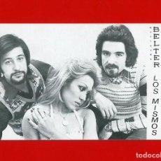Fotos de Cantantes: LOS MISMOS - FOTOGRAFIA COMERCIAL OFICIAL - BELTER - AÑOS 70. Lote 96573735