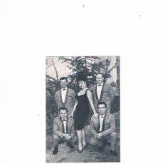 Fotos de Cantantes: FOTOGRAFIA FICHA VICTORITA Y SUS TROVADORES DISCOS VERGARA SIMILAR A POSTAL ATRAS BLANCO TODO. Lote 97394099