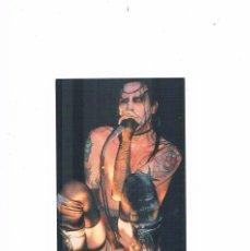Fotos de Cantantes: POSTAL ANTIGUA SIN CIRCULAR MARILYN MANSON ANABAS. Lote 131158821