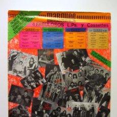 Fotos de Cantantes: MARQUEE THE COLLECTION 1958-1983 ORIGINAL POSTER 48 X 64 CMS. Lote 97419911