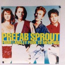 "Fotos de Cantantes: PREFAB SPROUT ""FROM LANGLEY PARK TO MEMPHIS"" (1988). CARTEL PROMOCIONAL DEL ÁLBUM.. Lote 97421015"