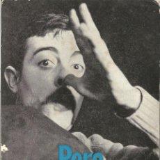 Foto di Cantanti: PERE TAPIAS, DISCOGRAFIA, DEDICATORIA - GRAFICAS ARAMAR 1971. Lote 97722023