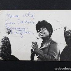 Fotos de Cantantes: FOTO PROMOCIONAL AUTOGRAFIADA DE DONNA HIGHTOWER, COLUMBIA 1971, IF YOU HOLD MY HAND, AUTOGRAFO. Lote 98211515