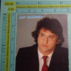 Fotos de Cantantes: FOTO POSTAL DE MÚSICA. ARTISTA CANTANTE. AÑO 1983. CHIQUETETE SER AMANTE. 1392. Lote 98723071