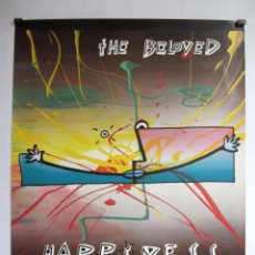 Fotos de Cantantes: THE BELOVED HAPPINESS ORIGINAL POSTER 58X76 CMS.. Lote 99198931