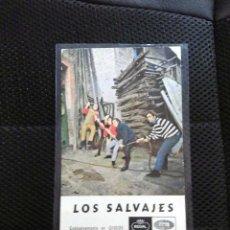 Fotos de Cantantes: LOS SALVAJES POSTAL PROMOCIONAL ORIGINAL EMI ODEON ESPAÑA COLECCION FOTO COLOR AÑOS 60. Lote 99951491