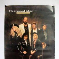 Fotos de Cantantes: FLEETWOOD MAC. ORIGINAL POSTER 60X85 CMS. BEHIND THE MASK. 1990. Lote 100013959