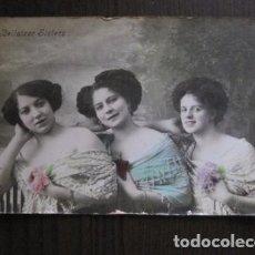 Fotos de Cantantes: POSTAL ANTIGUA - CANTANTE - TEATRO- CUPLETISTA - BELLATZER SISTERS -(50.618). Lote 100543835