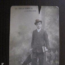 Fotos de Cantantes: POSTAL ANTIGUA - CANTANTE - TEATRO- JUAN PEGUERO -(50.619). Lote 100543907