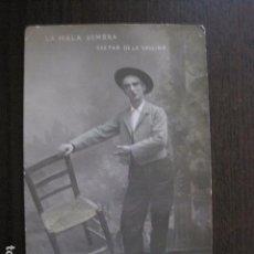 Fotos de Cantantes: POSTAL ANTIGUA - CANTANTE - TEATRO- GASPAR DE LA VALLINA-(50.623). Lote 100544083