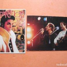Fotos de Cantantes: POSTALES ( 2) S&GARFUNKEL + PRINCE 1986 PDELUXE. Lote 101156395