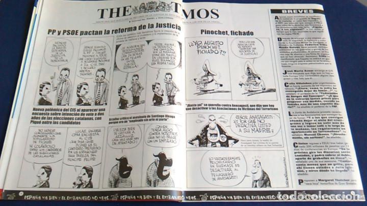 Fotos de Cantantes: Poster caricatura R.E.M. REM. Revista El Jueves. - Foto 4 - 101225323