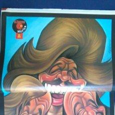 Fotos de Cantantes: PÓSTER CARICATURA DEL GRUPO MUSICAL BEE GEES. REVISTA EL JUEVES.. Lote 101591559