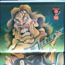 Fotos de Cantantes: PÓSTER DEL GRUPO AC/DC. AC / DC. REVISTA EL JUEVES.. Lote 101632215