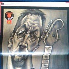 Fotos de Cantantes: PÓSTER ERIP CLAPTON. REVISTA EL JUEVES.. Lote 101696427