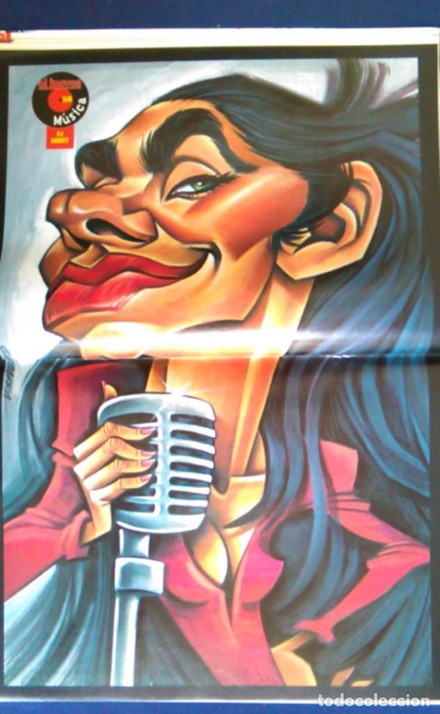 PÓSTER DE LA CANTANTE PJ HARVEY, POR VIZCARRA. REVISTA EL JUEVES. (Música - Fotos y Postales de Cantantes)