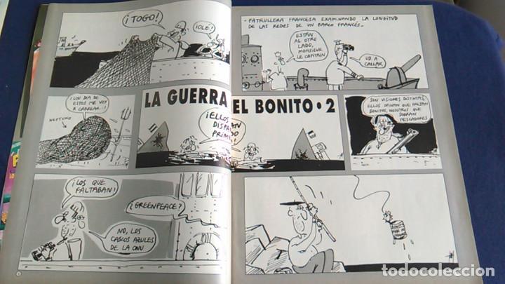 Fotos de Cantantes: Póster Slash de Guns N' Roses. Caricatura, retrato. Revista El Jueves. - Foto 2 - 101746947