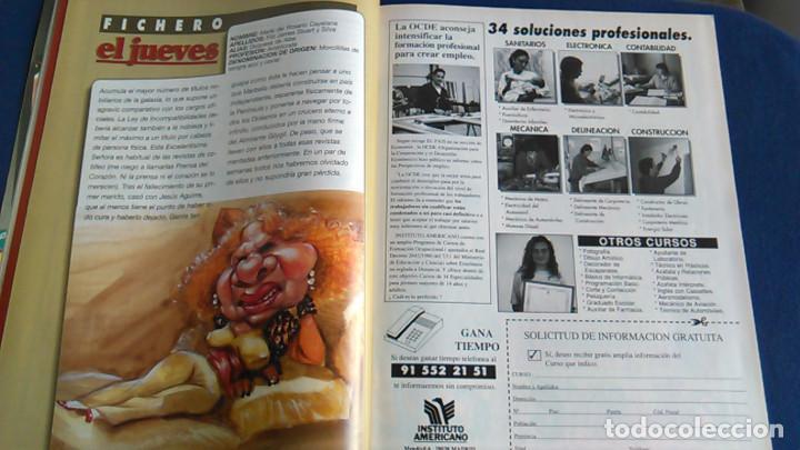 Fotos de Cantantes: Póster Slash de Guns N' Roses. Caricatura, retrato. Revista El Jueves. - Foto 4 - 101746947
