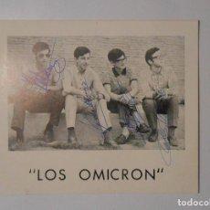 Fotos de Cantantes: POSTAL LOS OMICRON. TDKP2. Lote 101929887