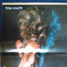 Fotos de Cantantes: PÓSTER TOM WATTS, KRÜGER. CARICATURA, RETRATO. REVISTA EL JUEVES.. Lote 101986015