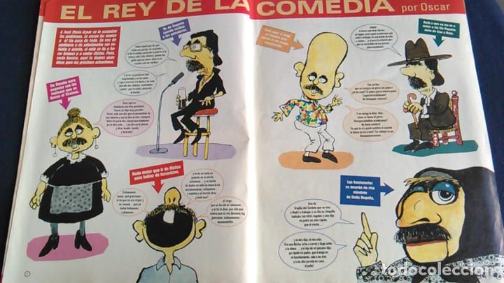 Fotos de Cantantes: Póster de Madonna, por Vizcarra. Caricatura. Revista El Jueves. - Foto 3 - 102000331