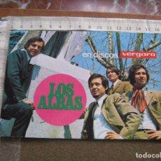 Fotos de Cantantes: TARJETA POSTAL PROMOCIONAL DE LOS ALBAS. Lote 102061947