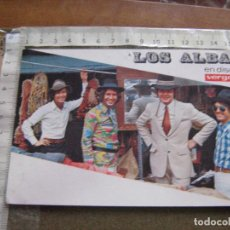 Fotos de Cantantes: TARJETA POSTAL PROMOCIONAL DE LOS ALBAS. Lote 102062375