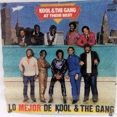 """Fotos de Cantantes: KOOL & THE GANG """"AT THEIR BEST"""" (1983). CARTEL PROMOCIONAL DEL ÁLBUM.. Lote 103674583"""