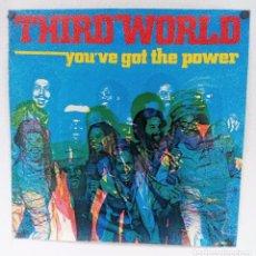 "Fotos de Cantantes: THIRD WORLD ORIGINAL ""YO'VE THE POWER"" (1982). CARTEL PROMOCIONAL DEL ÁLBUM.. Lote 103686151"