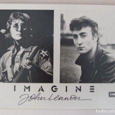 Fotos de Cantantes: FOTO ORIGINAL PROMOCIONAL BEATLES JOHN LENNON IMAGINE EMI. Lote 105790871
