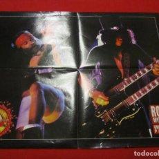 Fotos de Cantantes: GUNS N ROSES POSTER REVISTA ROCK WORLD. Lote 105849759