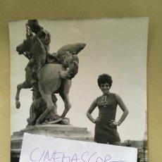 Fotos de Cantantes: INTERESANTE FOTO ORIGINAL DE LA CANTANTE SALOME AÑOS 70. Lote 106594359