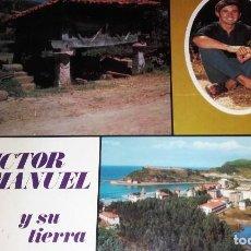 Fotos de Cantantes: VICTOR MANUEL - Y SU TIERRA - PORTADA ABIERTA (SOLO PORTADA). Lote 106653327