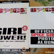 Fotos de Cantantes: SPICE GIRLS - GIRL POWER - LIBRO Y ALBUM OFICIAL . Lote 107176087